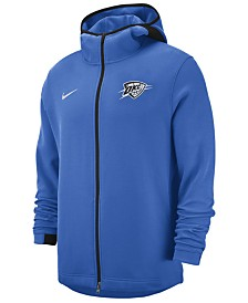 Nike Men's Oklahoma City Thunder Dry Showtime Full-Zip Hoodie