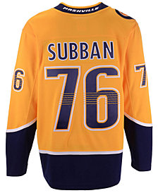 Fanatics Men's P.K. Subban Nashville Predators Breakaway Player Jersey