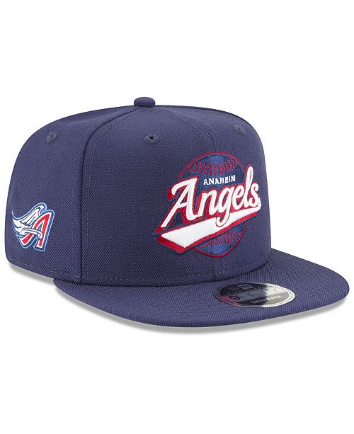 75fa35b3d8b New Era Los Angeles Angels Vintage 9FIFTY Snapback Cap - Sports Fan ...