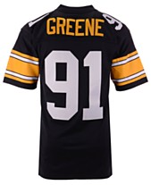 09ee5fb9150 Mitchell & Ness Men's Kevin Greene Pittsburgh Steelers Replica Throwback  Jersey