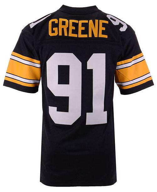 Men S Kevin Greene Pittsburgh Steelers Replica Throwback Jersey