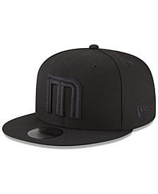 New Era Memphis Grizzlies Alpha Triple Black 59FIFTY FITTED Cap