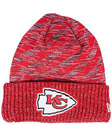 New Era Boys' Kansas City Chiefs Touchdown Knit Hat