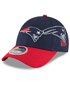 New Era Boys' New England Patriots Side Flect 9FORTY Cap