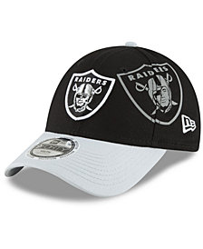 New Era Boys' Oakland Raiders Side Flect 9FORTY Cap