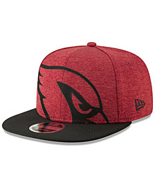 New Era Arizona Cardinals Oversized Laser Cut 9FIFTY Snapback Cap
