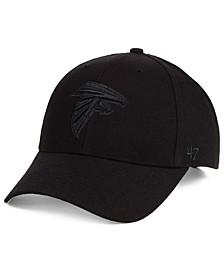Atlanta Falcons Black & Black MVP Strapback Cap
