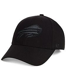 Buffalo Bills Black & Black MVP Strapback Cap