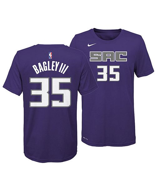 check out bfed9 1989a Marvin Bagley III Sacramento Kings Icon Name and Number T-Shirt, Big Boys  (8-20)