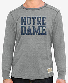 Retro Brand Men's Notre Dame Fighting Irish Deconstructed Crew Sweatshirt