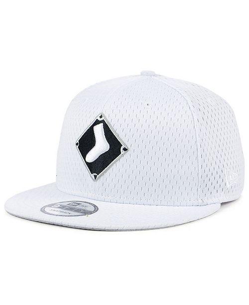 bd1a16fe71b9a New Era Chicago White Sox Batting Practice Mesh 9FIFTY Snapback Cap ...