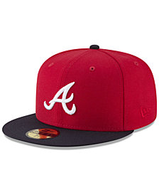New Era Atlanta Braves Batting Practice Wool Flip 59FIFTY FITTED Cap