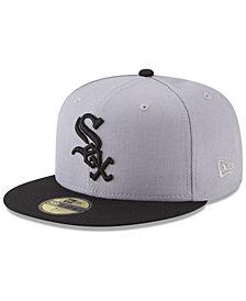 New Era Chicago White Sox Batting Practice Wool Flip 59FIFTY FITTED Cap