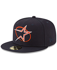 New Era Houston Astros Batting Practice Wool Flip 59FIFTY FITTED Cap