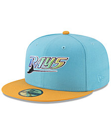 New Era Tampa Bay Rays Batting Practice Wool Flip 59FIFTY FITTED Cap