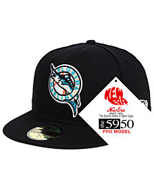 New Era Florida Marlins Retro Stock 59FIFTY FITTED Cap