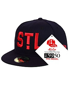 New Era St. Louis Cardinals Retro Stock 59FIFTY FITTED Cap