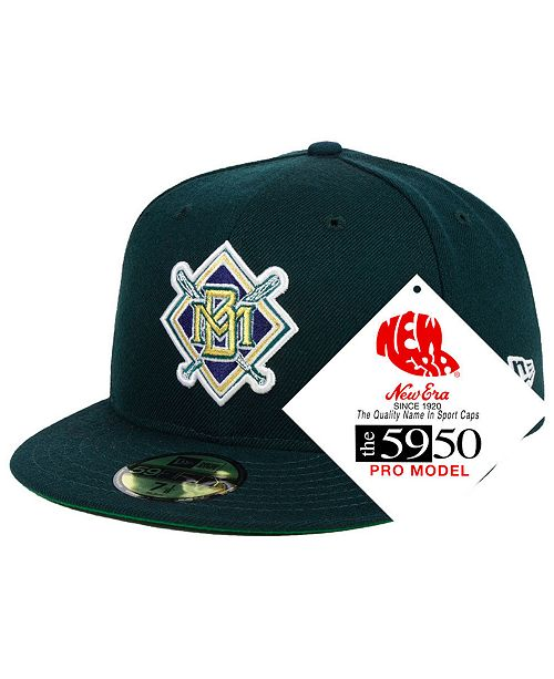 cheap for discount 09339 5bab2 ... New Era Milwaukee Brewers Retro Stock 59FIFTY FITTED Cap ...