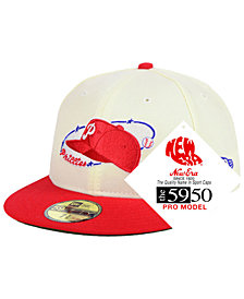 New Era Philadelphia Phillies Retro Stock 59FIFTY FITTED Cap