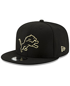 New Era Detroit Lions Tracer 9FIFTY Snapback Cap
