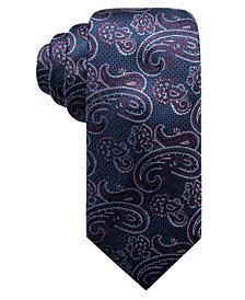 Tasso Elba Men's Paisley Silk Tie, Created for Macy's