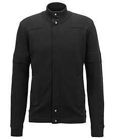 BOSS Men's Virgin Wool Knit Cardigan