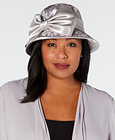 August Hats Formal Lace Cloche