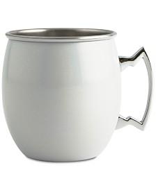 CLOSEOUT! Thirstystone  White Iridescent Moscow Mule Mug