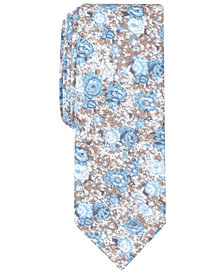 Penguin Men's Myles Floral Skinny Tie
