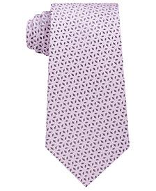 Michael Kors Men's Extra Long Geometric Silk Tie