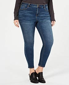 Plus Size Power Sculpt Skinny Jeans, Created for Macy's