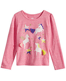 Epic Threads Toddler Girls Unicorn-Print T-Shirt, Created for Macy's