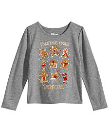 Epic Threads Toddler Girls Gingerbread T-Shirt, Created for Macy's