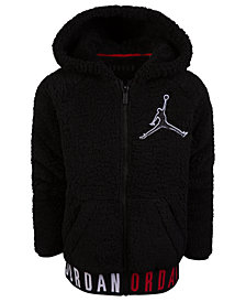 Jordan Big Boys Air Jordan Jumpman Zip-Front Hoodie