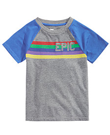 Epic Threads Little Boys Logo T-Shirt, Created for Macy's