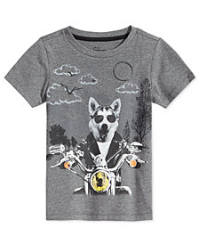 Epic Threads Little Boys Wolf T-Shirt, Created for Macy's