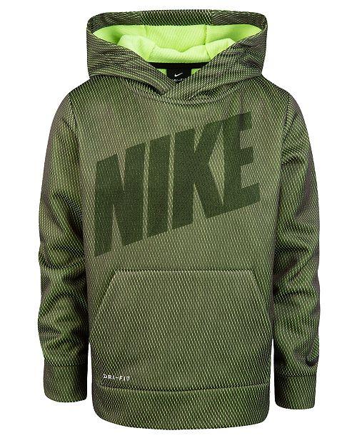 Nike Toddler Boys Therma-FIT Mesh Pullover Hoodie - Sweatshirts ... 970807969032