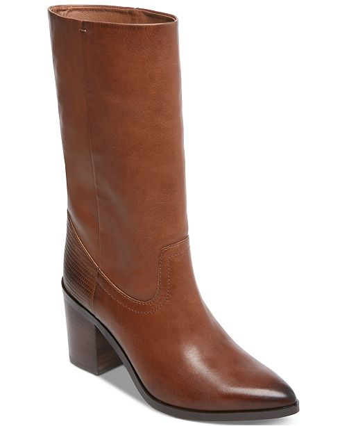 99cb749b24d STEVEN by Steve Madden Frida Western Stovepipe Boots & Reviews ...