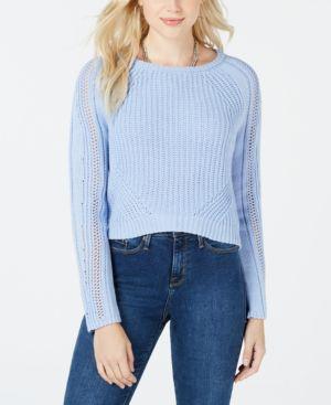 FRESHMAN | Freshman Juniors' Cropped Sweater | Goxip