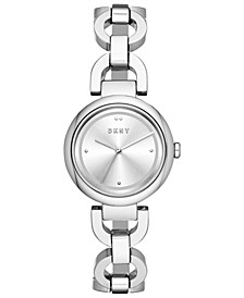 Women's Eastside Stainless Steel Chain Bracelet Watch 30mm, Created for Macy's
