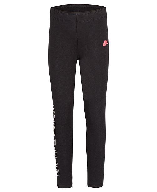 9a57ad90a Nike Little Girls Favorite Futura Just Do It Leggings - Leggings ...