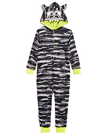 Max & Olivia Big Boys Gorilla Hooded Onesie, Created for Macy's