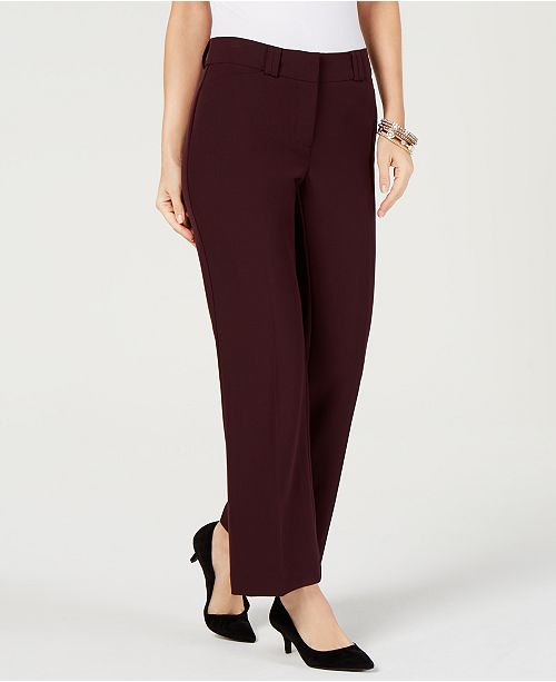Curvy Bootcut Pants, Created for Macy's