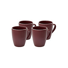 Darbie Angell Potter's Wheel Mug Set of 4