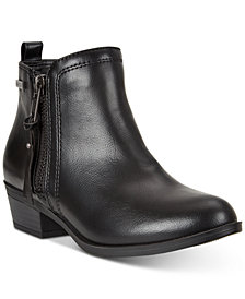 Nautica Little & Big Girls Belmonde Short Booties