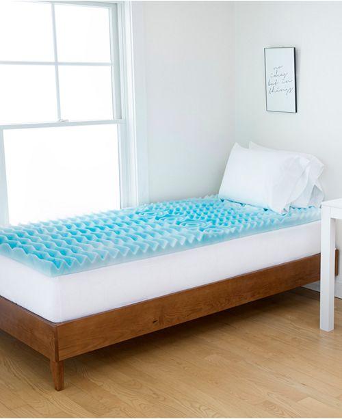Authentic Comfort 5 Zone Twin Xl 3 Dorm Orthopedic Foam Mattress