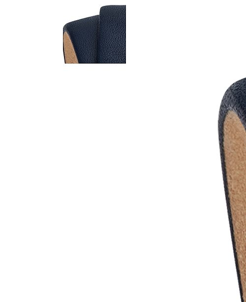 d35d005c4 Tory Burch Women's Reva Navy Leather Double Wrap Strap Watch 28mm ...
