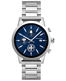 Tory Burch Women's Gigi ToryTrack Stainless Steel Bracelet Touchscreen Smart Watch 40mm