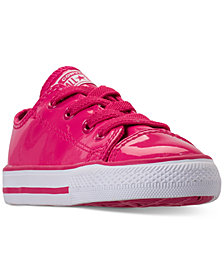 Converse Toddler Girls' Chuck Taylor All Star Leather Ox Casual Sneakers from Finish Line