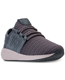 New Balance Women's Fresh Foam Cruz V2 Running Sneakers from Finish Line